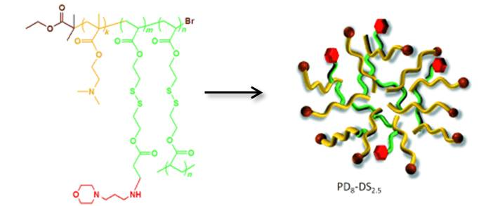 Ben Newland Research - Angewandte Chemie, Branched polymers