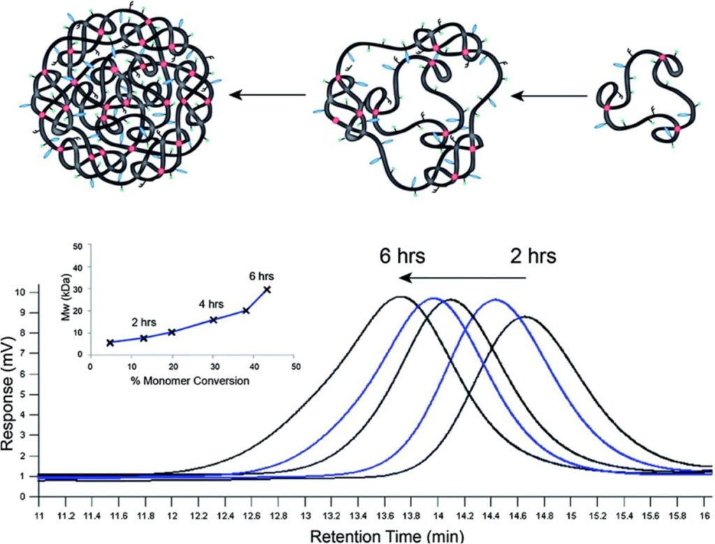 Ben Newland Research - Nanoscale cyclized polymer