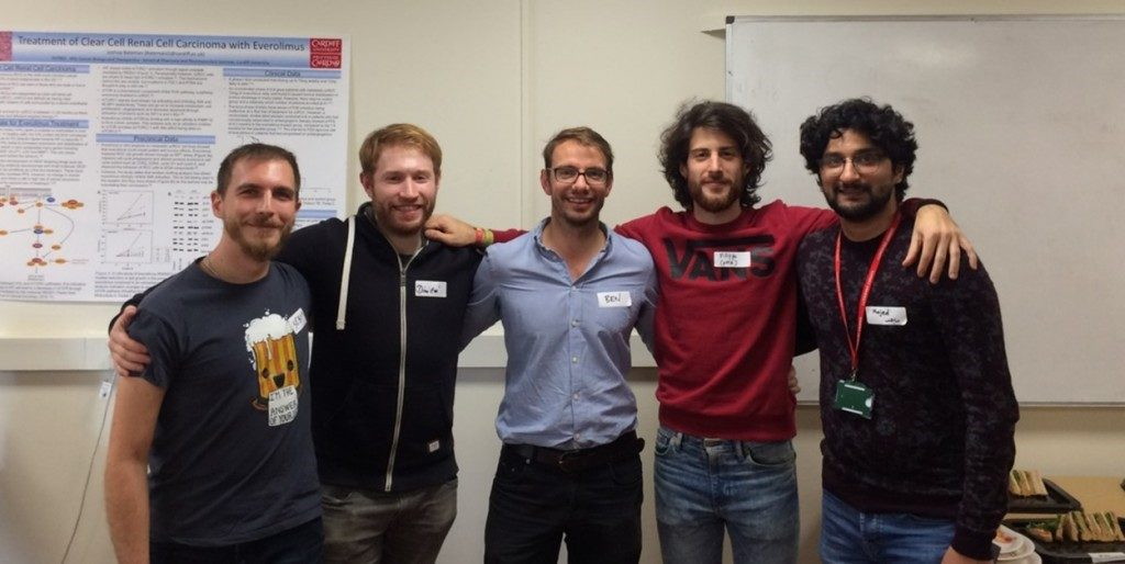 Group of scientists, Cardiff University